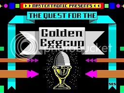 Who has a golden eggcup? Alan Sugar, probably.