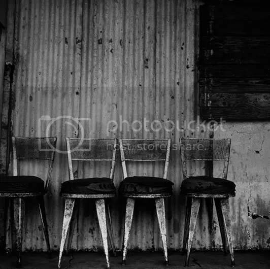 Chairs, Asian Bazaar (from the series, Dorps)