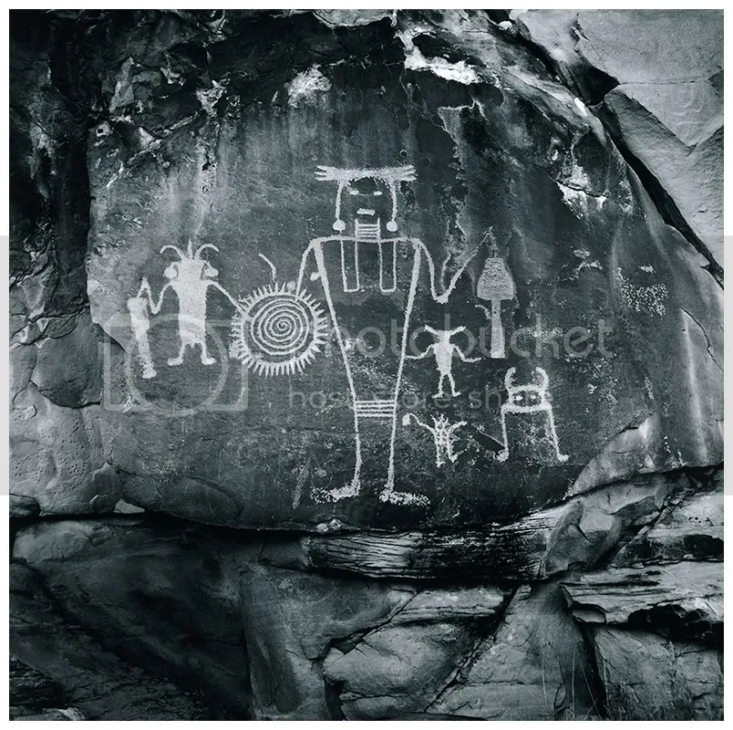 Stephen Cooper: Freemont Warrior (from the series, Canyonland Architects)