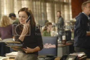 Rory Gilmore at the Yale Daily News