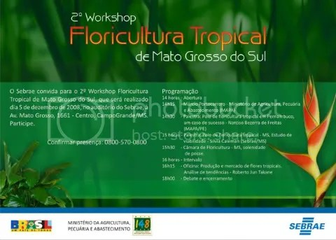 Workshop de Floricultura Tropical