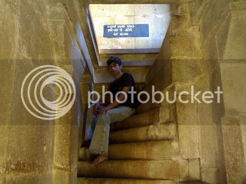 Myself (Piyush) inside temple