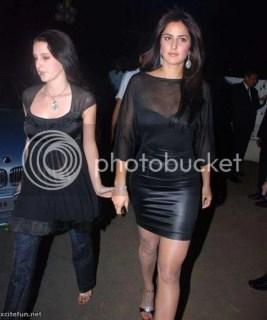 Sabel Kaif and Katrina kaif