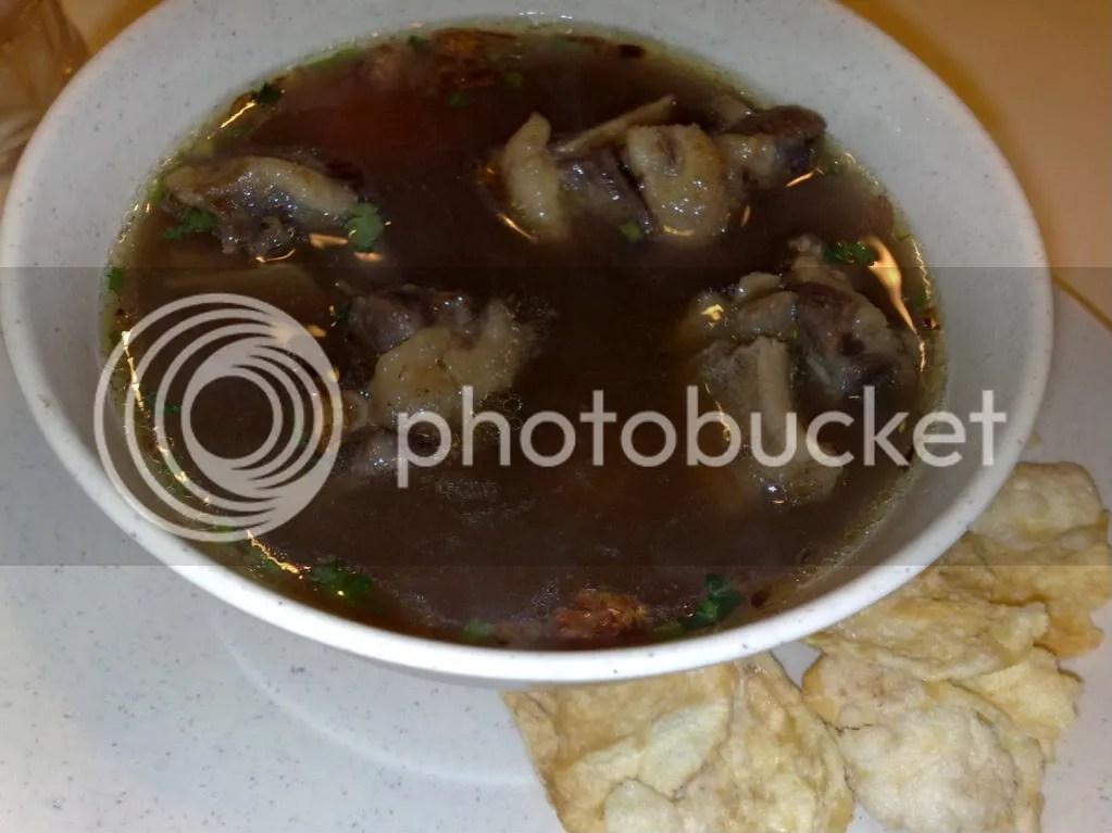 Oxtail Soup Ojolali