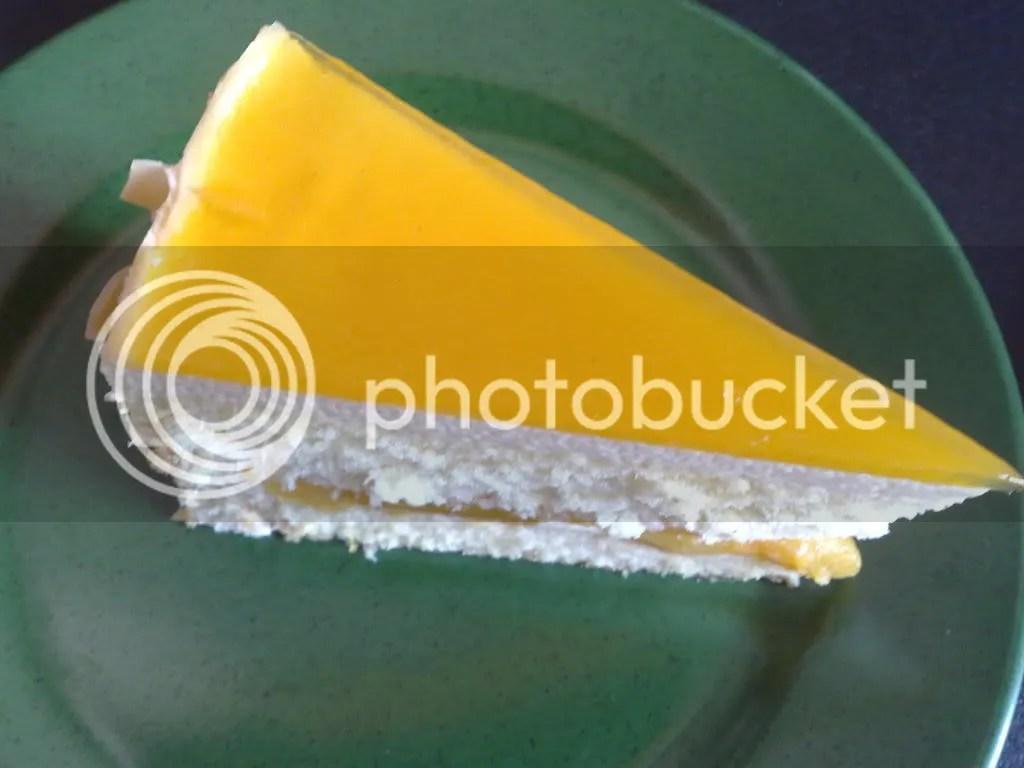 Food Addict Cafe's Mango Mousse Cake