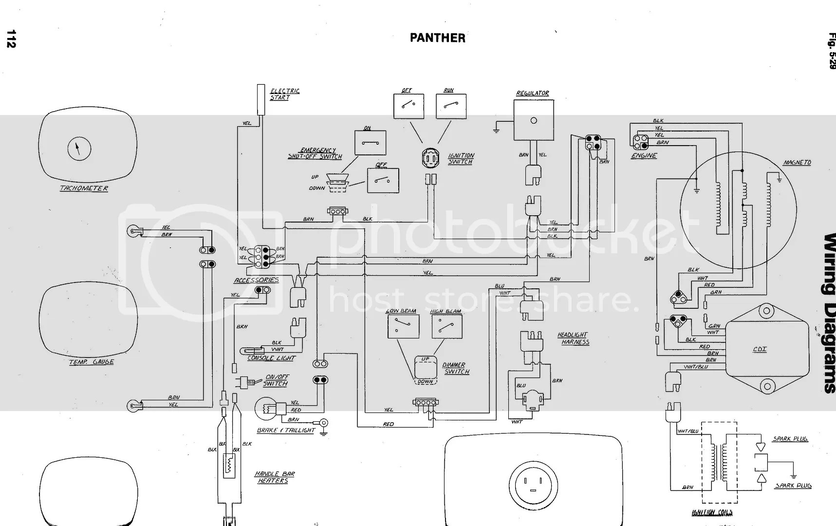79 Arctic Cat Jag F C Wiring Diagram Photo By