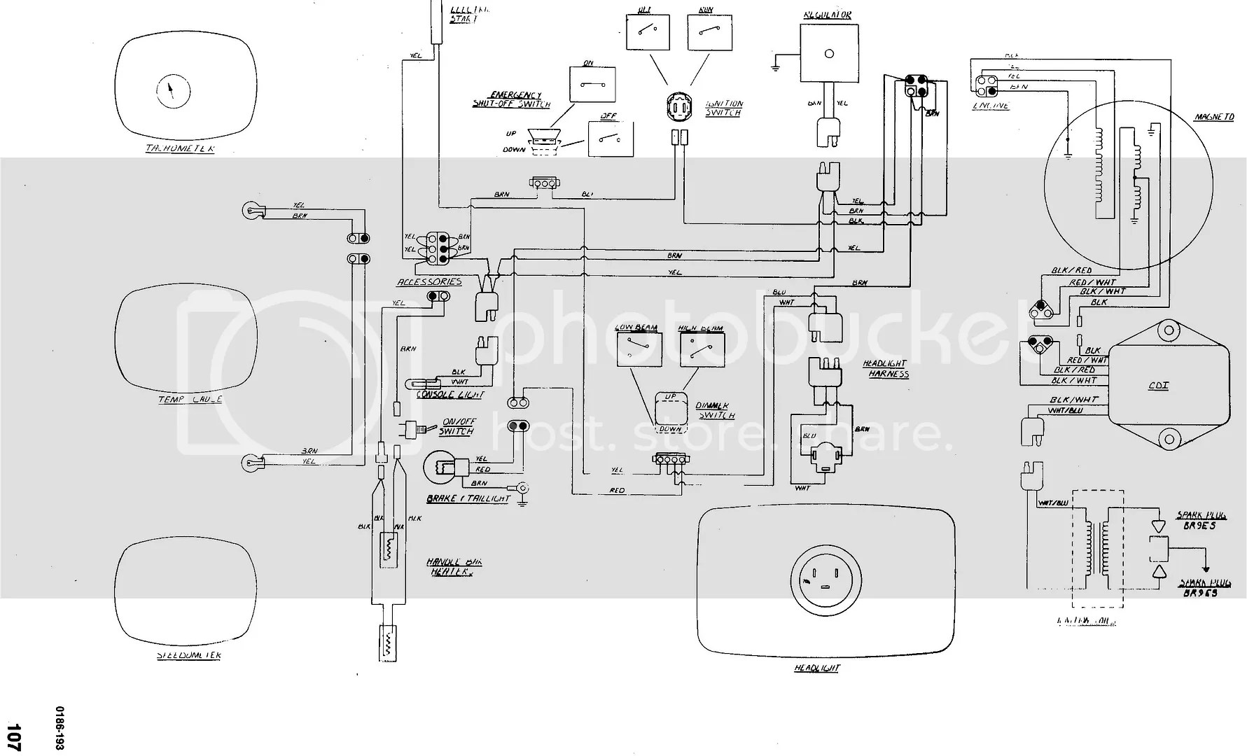 Lynx 340 Wiring Diagram