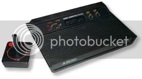 O velho e bom Atari 2600