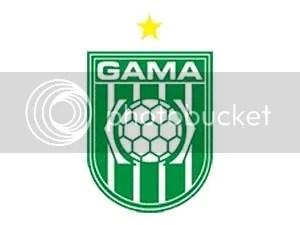 Brasão da sociedade esportiva do Gama