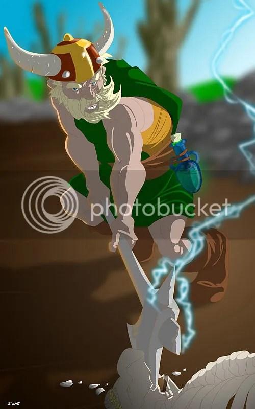 O anão Thunderhead