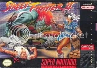 Street Fighter II no SNES