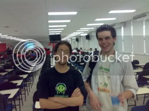 Ryunoken e Guilherme, da Mother Gaia Studios