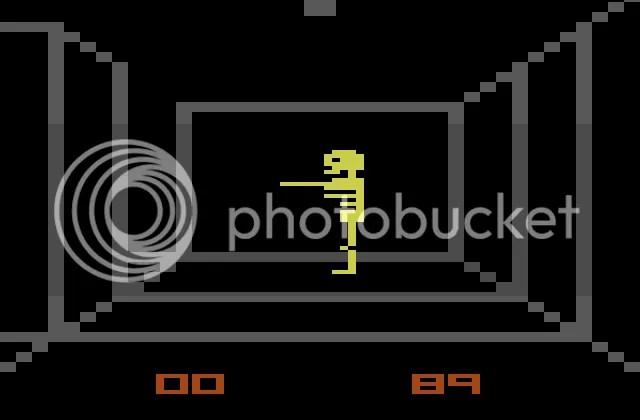 Sim, labirintos em 3D no Atari 2600.