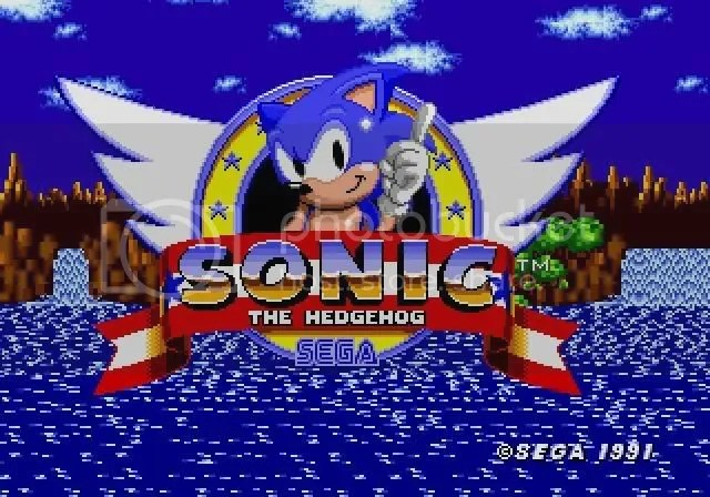 Sonic para Mega Drive
