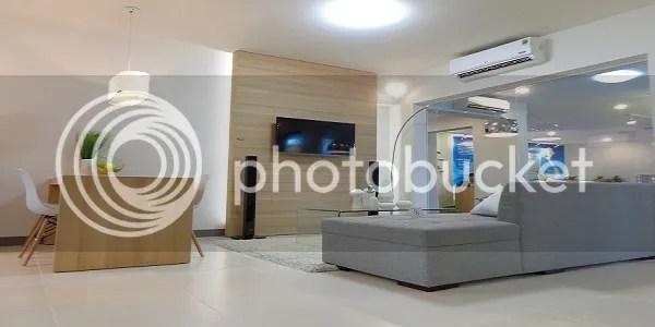 Phòng khách căn hộ mẫu First Home Premium Thủ Đức