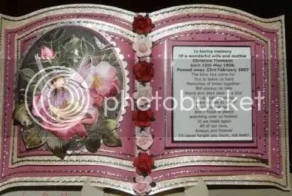 mum tribute memory keepsake memorial bookatrix