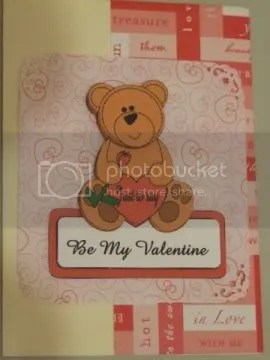 be my valentine bear