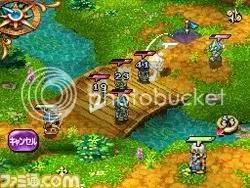 Heroes of Mana screen
