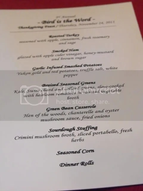 Fancy dinner menu happy new year let me show you my thanksgiving