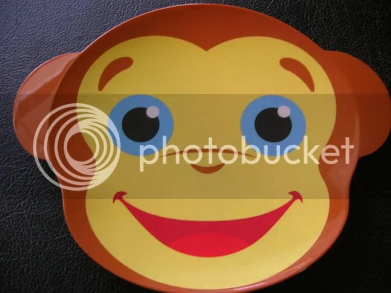 monkey plate