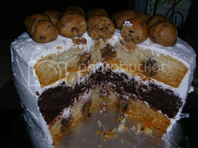 half baked cake