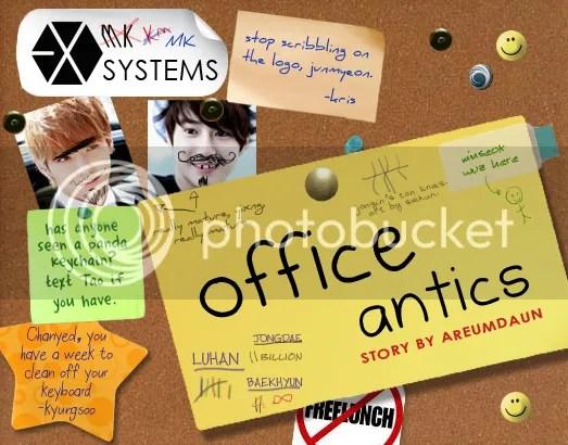 Office Antics - main story image