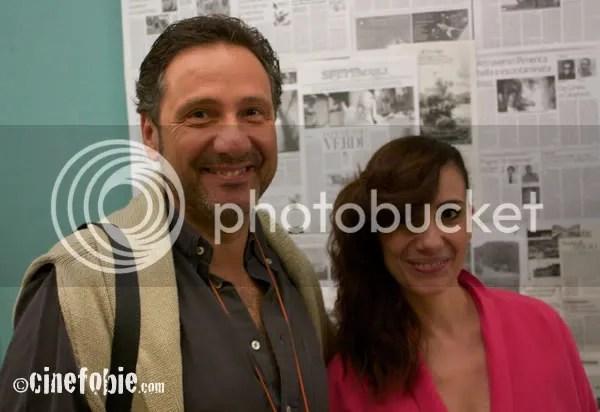 Mario Tozzi e Paola Maugeri posano in esclusiva per Cinefobie