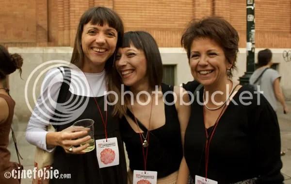 L'ufficio stampa: Valentina Tua, Delia Parodo e Marta Franceschetti