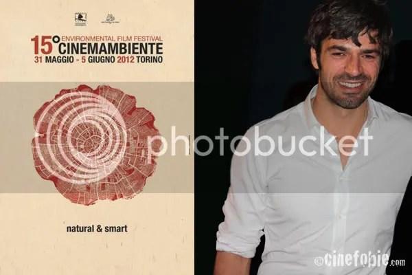 Luca Argentero, membro della giuria, posa per Cinefobie