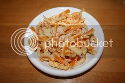 Scorzette d'arancia (ricettina golosa con foto)