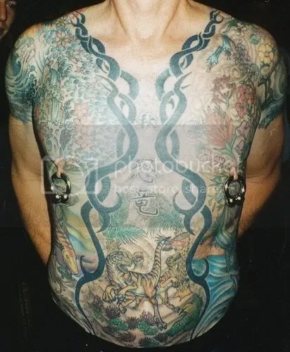 I'm just curious to know who among our fellow LTB'ers have tattoos. Tell me.