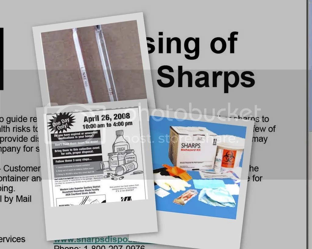 sharps collage