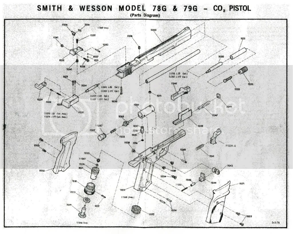 Smith And Wesson Model 29 Parts Diagram Pictures To Pin On