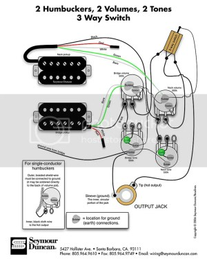 HELP!! Wiring Problem Seymour Duncan pickups  Gibson Brands Forums