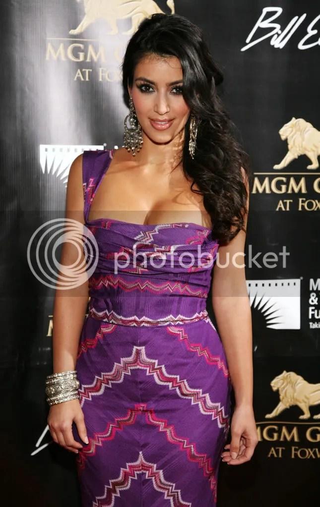 Kim Kardashian at the MGM Grand