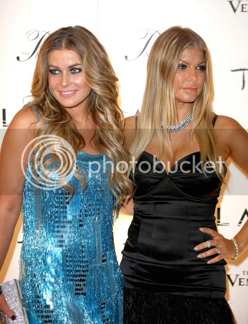 Fergie & Carmen Electra