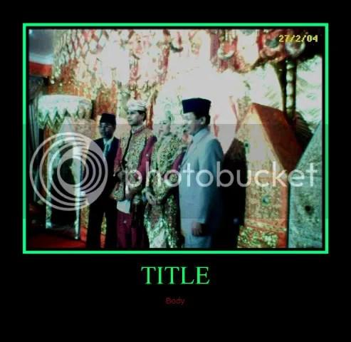 Wedding ceremony of H Arnis Daughter in Padangpanjang