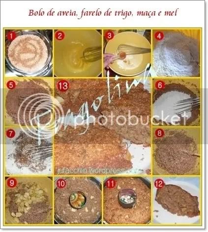 bolo de fibras