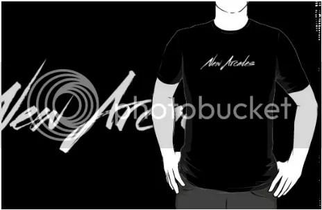 New Arcades - Logo T-Shirt by NewArcades