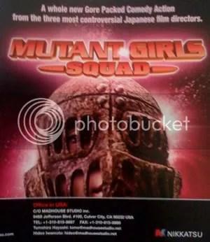 Mutant Girl Squad poster