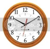 Wood Clock IW-1