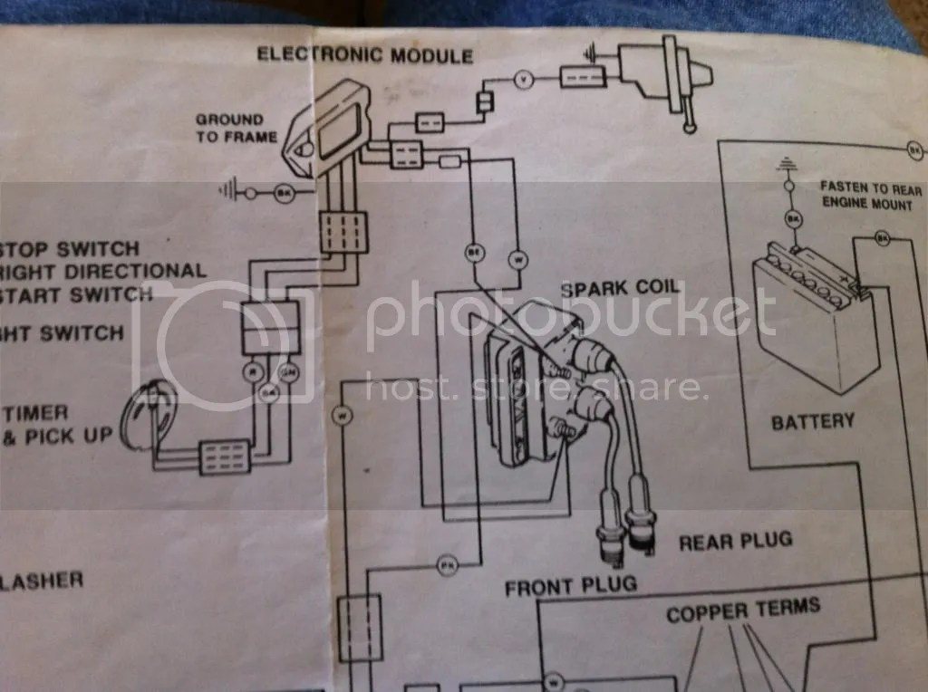 Please Help With 89 Sportster Wiring