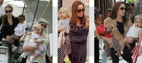 Shiloh Jolie-Pitt and her lovey