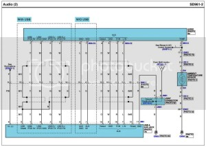 Wiring Diagram for Base Stereo  Photo inside  Hyundai Genesis Forum