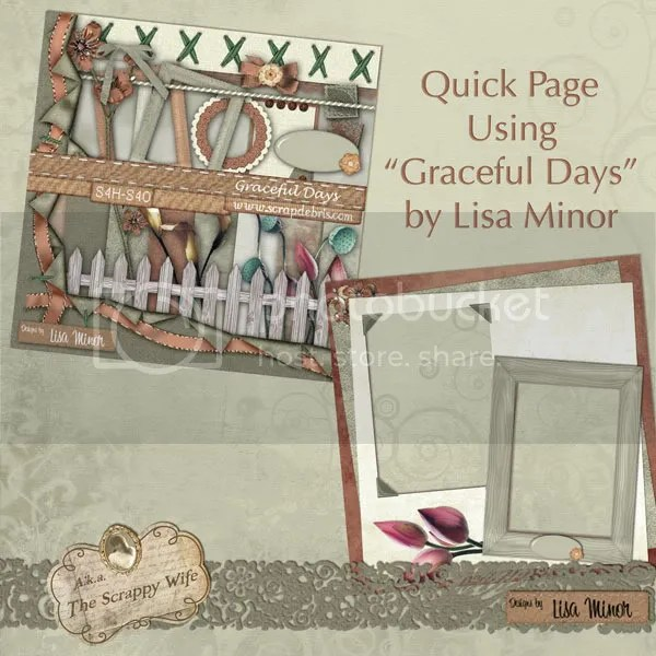 Graceful Days Kit & Quick Page