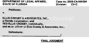 Ellis Crosby Judgment