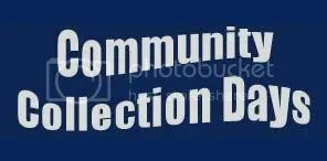 Community collection days
