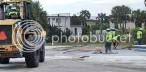 Vilano Beach workers