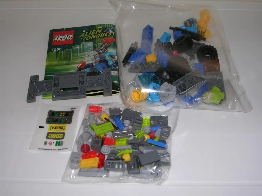 lego alien conquest 7065 instructions