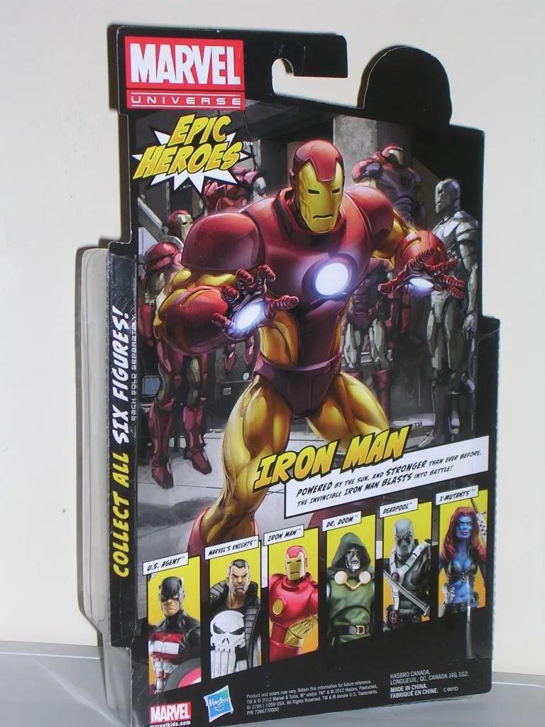 Marvel Legends Iron Man Neo Classic Armor By Hasbro
